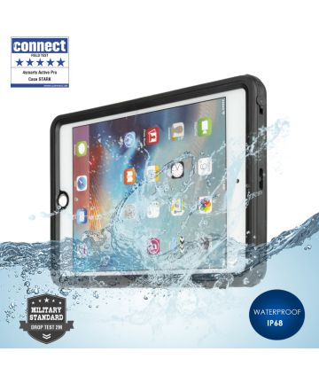 4smarts Active Pro STARK Waterbestendig Hoesje iPad Mini 5 Zwart Hoesjes