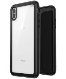 Speck Presidio Show Transparant Hoesje Apple iPhone XS Max Zwart
