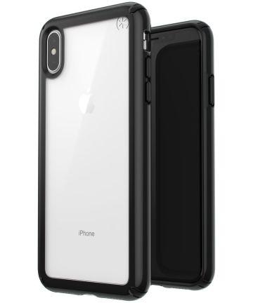 Speck Presidio Show Transparant Hoesje Apple iPhone XS Max Zwart Hoesjes