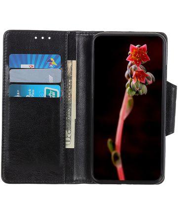 Samsung Galaxy Note 10 Plus Portemonnee Hoesje Zwart Hoesjes