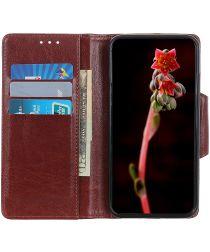 Samsung Galaxy Note 10 Plus Portemonnee Hoesje Bruin