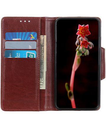 Samsung Galaxy Note 10 Plus Portemonnee Hoesje Bruin Hoesjes