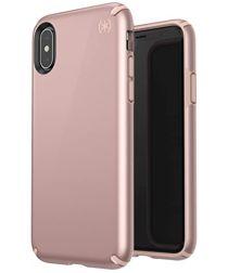 Speck Presidio Metallic Apple iPhone X/XS Hoesje Rose Gold Hardcover