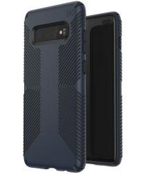 Speck Presidio Grip Hoesje Samsung Galaxy S10 Plus Blauw