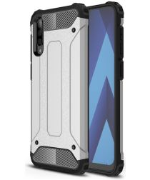 Samsung Galaxy A50 Hoesje Shock Proof Hybride Back Cover Grijs