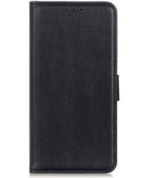Samsung Galaxy A70 Portemonnee Hoesje met Standaard Zwart