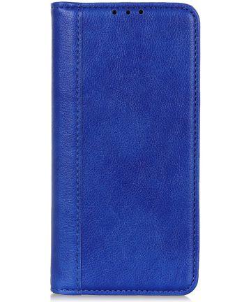 Samsung Galaxy A70 Splitleren Portemonnee Hoesje Blauw Hoesjes