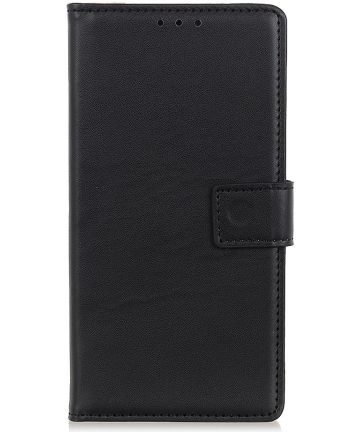 Samsung Galaxy A40 Stijlvol Portemonnee Hoesje met Standaard Zwart Hoesjes