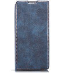 Samsung Galaxy A40 Dun Portemonnee Hoesje Blauw