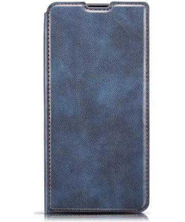 Samsung Galaxy A40 Dun Portemonnee Hoesje Blauw Hoesjes