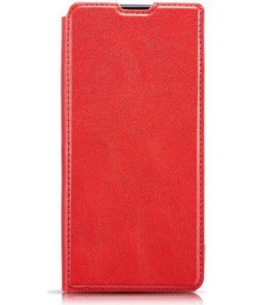 Samsung Galaxy A40 Dun Portemonnee Hoesje Rood Hoesjes