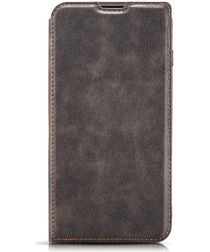 Samsung Galaxy A40 Dun Portemonnee Hoesje Zwart