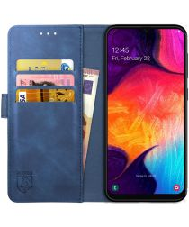 Rosso Element Samsung Galaxy A50 Hoesje Book Cover Blauw
