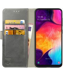 Rosso Element Samsung Galaxy A50 Hoesje Book Cover Grijs