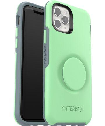 Otter + Pop Symmetry Series Apple iPhone 11 Pro Hoesje Groen Hoesjes