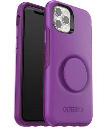 Otter + Pop Symmetry Series Apple iPhone 11 Pro Hoesje Paars