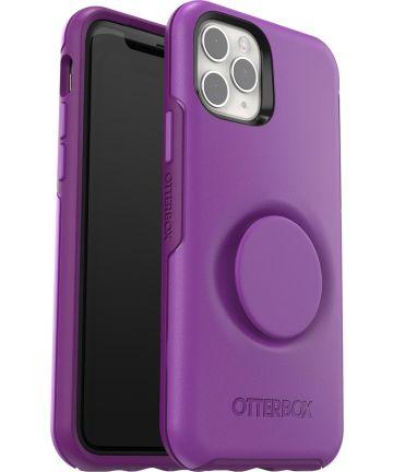 Otter + Pop Symmetry Series Apple iPhone 11 Pro Hoesje Paars Hoesjes