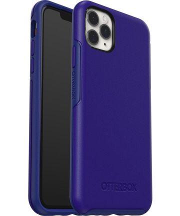 Otterbox Symmetry Series Apple iPhone 11 Pro Max Hoesje Blauw Hoesjes