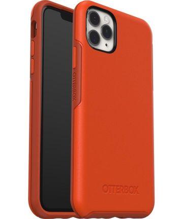 Otterbox Symmetry Series Apple iPhone 11 Pro Max Hoesje Oranje Hoesjes
