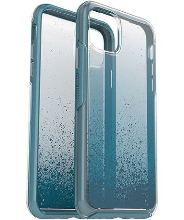 Otterbox Symmetry Series Apple iPhone 11 Pro Max Hoesje Clear Blauw Hoesjes