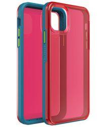 LifeProof Slam Apple iPhone 11 Pro Max Hoesje Blauw/Roze