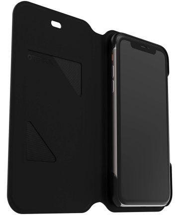 Otterbox Strada Series Via Apple iPhone 11 Hoesje Zwart