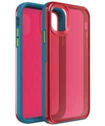 Lifeproof Slam Apple iPhone 11 Hoesje Blauw/Roze