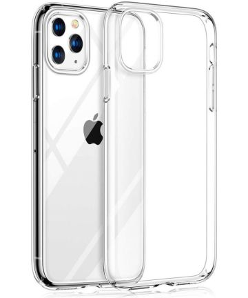 Apple iPhone 11 Pro Hoesje Dun TPU Transparant