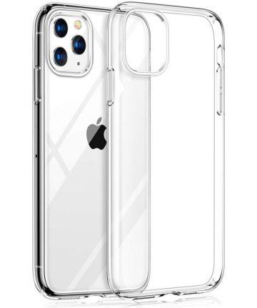 Apple iPhone 11 Pro Max Hoesje Dun TPU Transparant Hoesjes