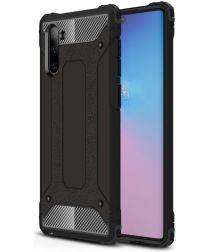 Samsung Galaxy Note 10 Hybride Hoesje Zwart