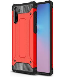 Samsung Galaxy Note 10 Hybride Hoesje Rood