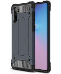 Samsung Galaxy Note 10 Hybride Hoesje Blauw
