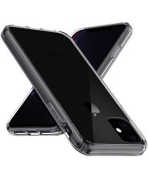 Apple iPhone 11 Hoesje Armor Back Cover Transparant