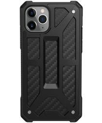 Urban Armor Gear Monarch Apple iPhone 11 Pro Hoesje Carbon Fiber