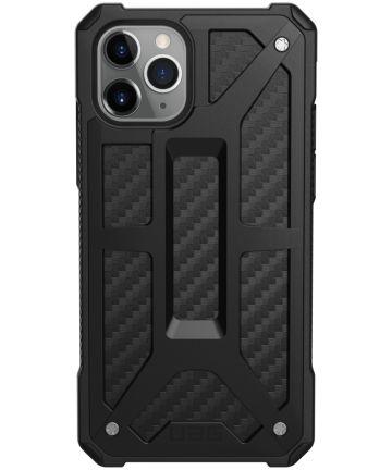 Urban Armor Gear Monarch Apple iPhone 11 Pro Hoesje Carbon Fiber Hoesjes