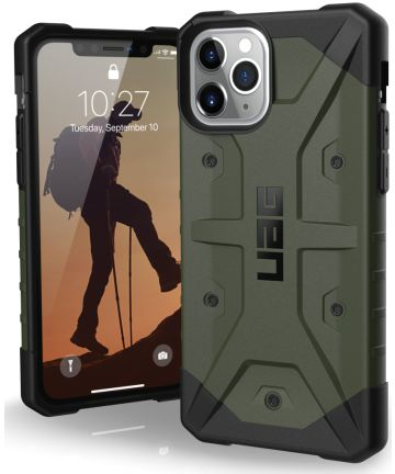 Urban Armor Gear Pathfinder Hoesje Apple iPhone 11 Pro Green Hoesjes