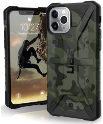 Urban Armor Gear Pathfinder Apple iPhone 11 Pro Hoesje Forest Camo