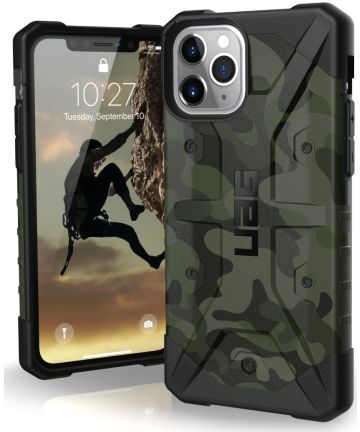 Urban Armor Gear Pathfinder Apple iPhone 11 Pro Hoesje Forest Camo Hoesjes