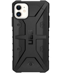 Urban Armor Gear Pathfinder Apple iPhone 11 Hoesje Zwart