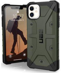Urban Armor Gear Pathfinder Apple iPhone 11 Hoesje Groen