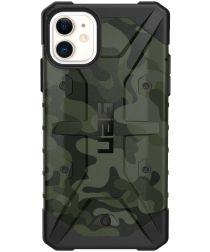 Urban Armor Gear Pathfinder Apple iPhone 11 Hoesje Camo Groen