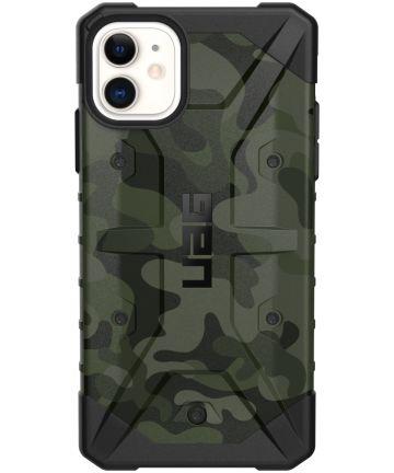Urban Armor Gear Pathfinder Apple iPhone 11 Hoesje Camo Groen Hoesjes