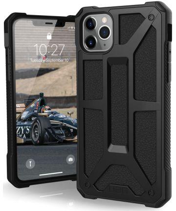 Urban Armor Gear Monarch Hoesje Apple iPhone 11 Pro Max Black Hoesjes