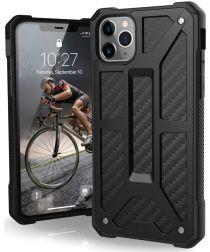 Urban Armor Gear Monarch Hoesje Apple iPhone 11 Pro Max Carbon Fiber