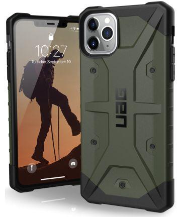 Urban Armor Gear Pathfinder Hoesje Apple iPhone 11 Pro Max Green Hoesjes