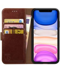 Rosso Element Apple iPhone 11 Pro Hoesje Book Cover Bruin