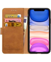 Rosso Element Apple iPhone 11 Pro Hoesje Book Cover Lichtbruin