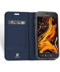 Dux Ducis Premium Book Case Samsung Galaxy Xcover 4(S) Hoesje Blauw