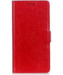 LG K50 Portemonnee Hoesje Rood