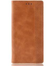 Xiaomi Mi A3 Vintage Portemonnee Hoesje Bruin